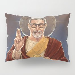 Saint Jeff of Goldblum Pillow Sham