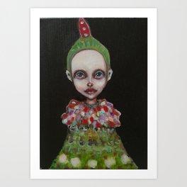 flowerkid Art Print
