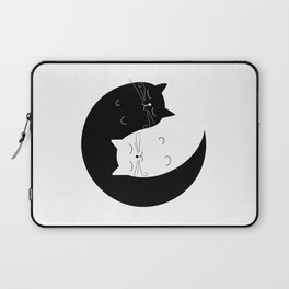 Ying yang cats Laptop Sleeve