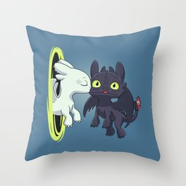 Kiss Fury Throw Pillow