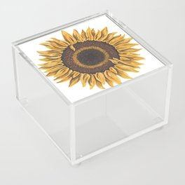 Sunflower Acrylic Box