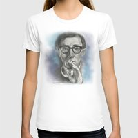 woody allen T-shirts featuring Woody Allen by Magdalena Almero
