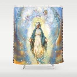 Divine Mother Shower Curtain