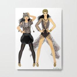 Fashion Journal: Day 29 Metal Print