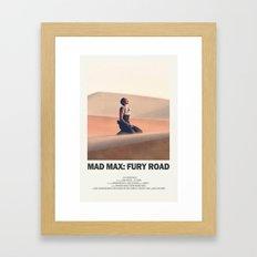 Furiosa: Fury Road Framed Art Print