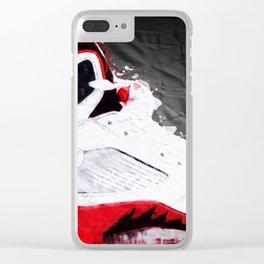 AJ Ocho Clear iPhone Case