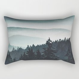 Mountain Light Rectangular Pillow