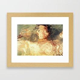 Blurry Framed Art Print