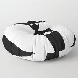 Come Wayward Souls Floor Pillow