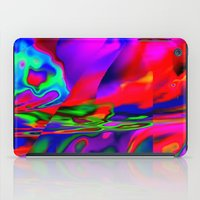 cracked iPad Cases featuring Cracked by David  Gough