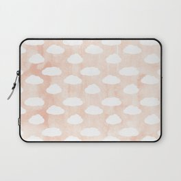 Coral clouds Laptop Sleeve