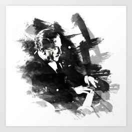Piano Genius Arrau Art Print