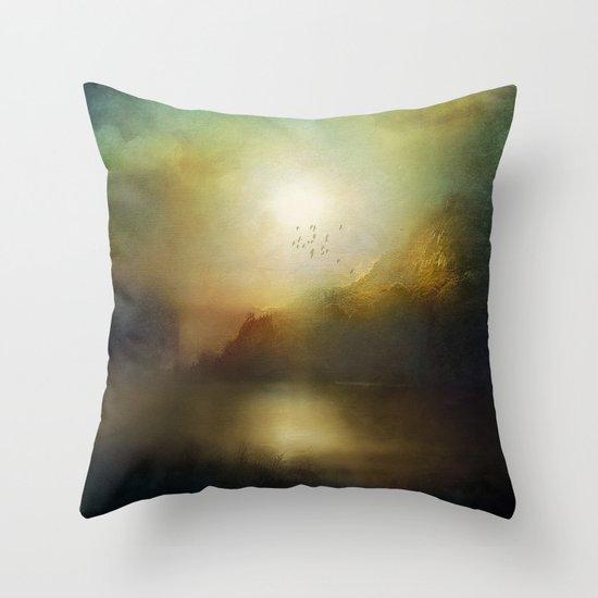 Poesia Throw Pillow
