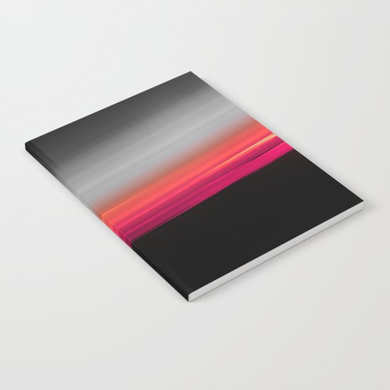 Pink Melon Gray Ombre Notebook