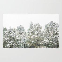 Lapse of Snow Rug