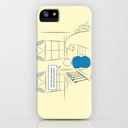 Get Off Your Phone and Socialize iPhone Case