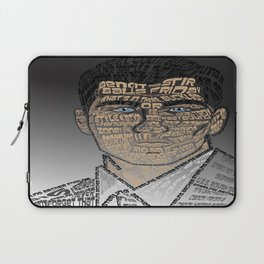 Typographic Sterling Archer Laptop Sleeve