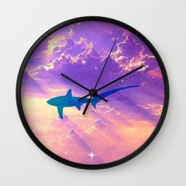 Air Shark Wall Clock