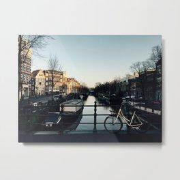 Morning in Amsterdam Metal Print