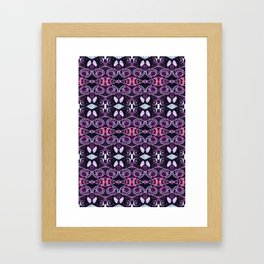Jewel Glow Framed Art Print