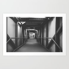 Stairway to.. Art Print