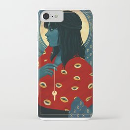 Three of Swords iPhone Case