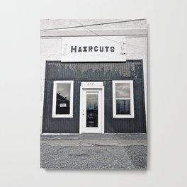 Haircuts Metal Print