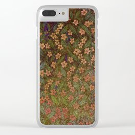 Grenada Floral 2 Clear iPhone Case