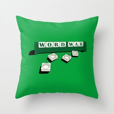 Word War! Throw Pillow