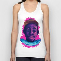 tyler the creator Tank Tops featuring Tyler The Creator II (Pink) by ASHUR Collective™
