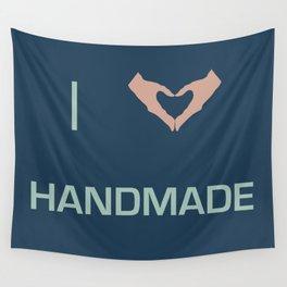 I heart Handmade Wall Tapestry