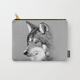 Skecth Wolf Carry-All Pouch