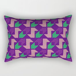 Clover&Nessie_Lavender&Mauve Rectangular Pillow