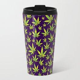 OG Kush Pattern Travel Mug
