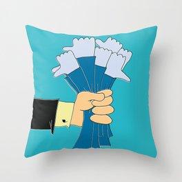 i like syndrome Throw Pillow