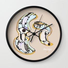 Beings in the Nano-World / 24-08-16 Wall Clock