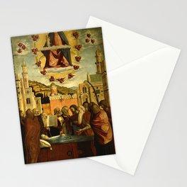 Vittore Carpaccio - Morte della Vergine Stationery Cards