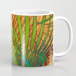 TROPICAL LEAVES POP-ART no2 Coffee Mug