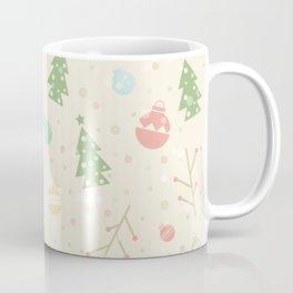 Simple christmas vector pattern Coffee Mug
