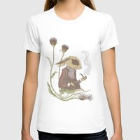 hare T-shirts featuring Gentleman Hare by Nicola Wallace