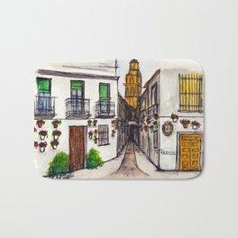 Calleja De Las Flores, Cordoba Spain Bath Mat