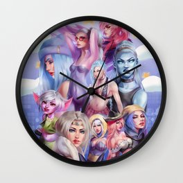 ADC Girlies Wall Clock