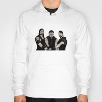wwe Hoodies featuring WWE - The Shield by Chaotic Color