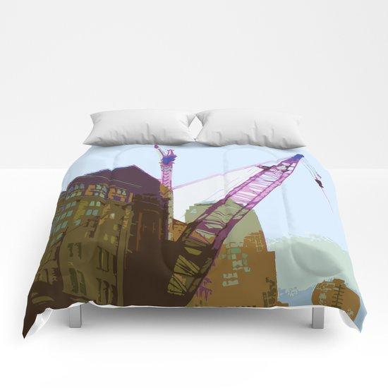 NY#4 Ground Zero, brown Comforters