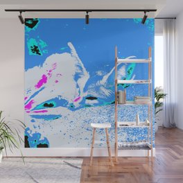 Pop Art Fennec Fox Wall Mural