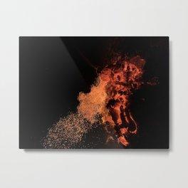 Flames Fire Heat Metal Print