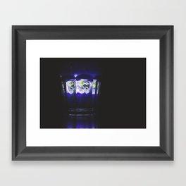Glass Earth Framed Art Print