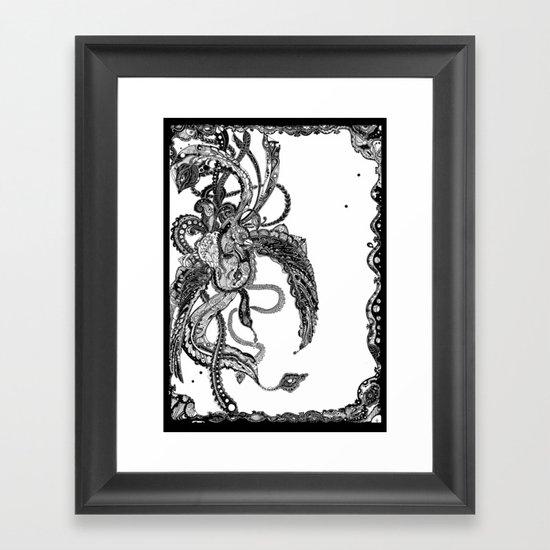 The Mechanical Bird Framed Art Print