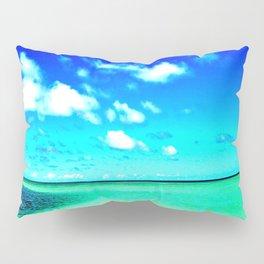 High color Summer Sandbar Sea Pillow Sham