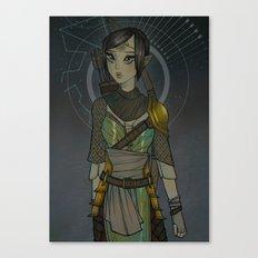 Warden Mahariel Canvas Print